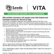 VITA Program Assistance