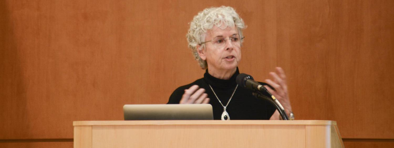 Lorrie speaking