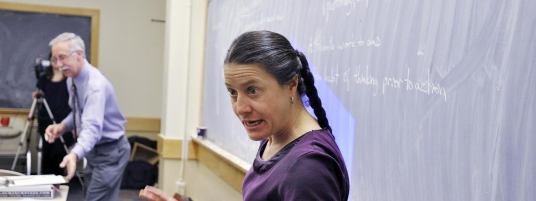 Valerie teaching