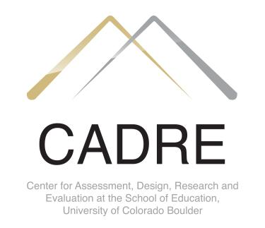 Center For Assessment Design Research And Evaluation Cadre