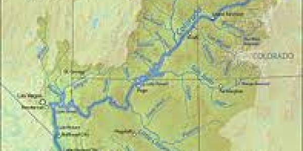 map of the entire colorado river basin