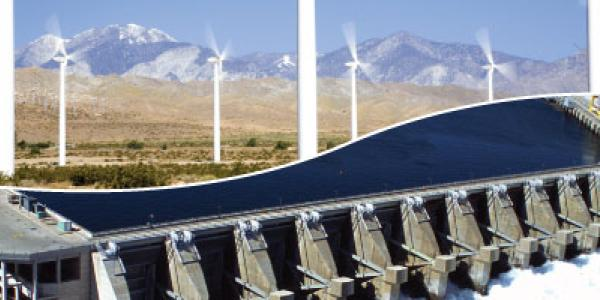 Hydropower and Windpower working together