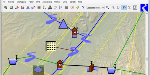 RiverWare workspace screenshot