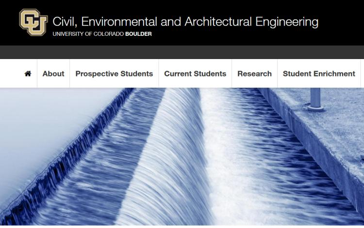 picture of CEAE webpage
