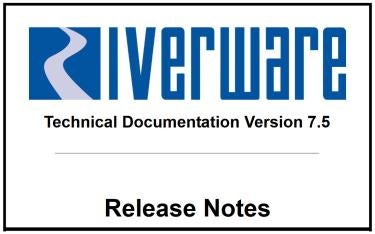 cover of the 7.5 release notes