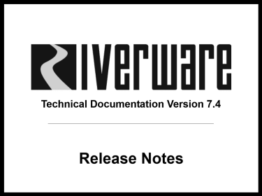 Black and white screen capture of new release docs