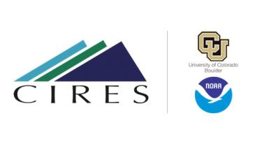 capture of CIRES logo with CU and NOAA