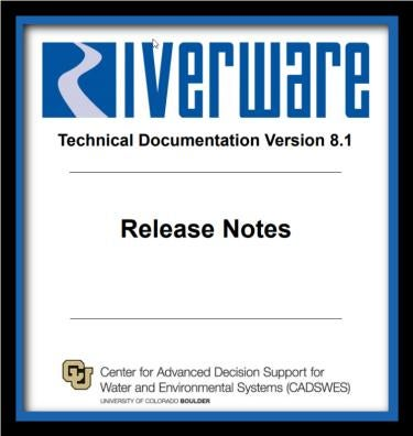 cover page of release 8.1 Notes