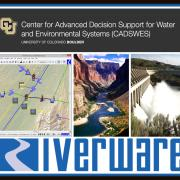 cadswes collage of riverware uses
