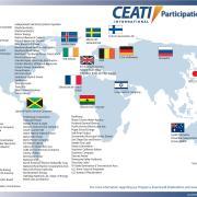 CEATI global participant map