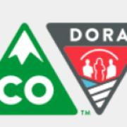 state of CO logo and DORA logo collage