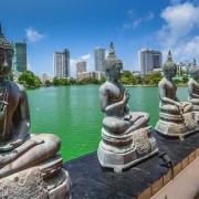 waterway in Colombo Sri Lanka