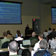 Participants during a RiverWare user group meeting