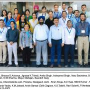attendees and instructors at the week long session hosted by Rajasthan, Jaipur