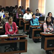 trainees in attendance for the RiverWare training class in India