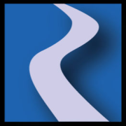 R portion of the RiverWare logo