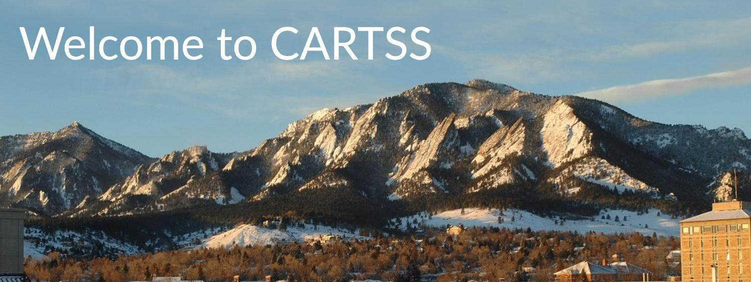 Welcome to CARTSS