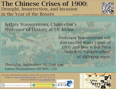 Chinese Crises of 1900