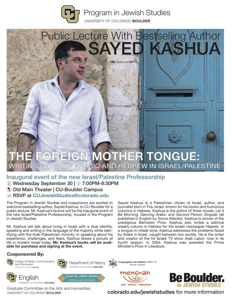 Foreign Mother Tongue Sayed Kashua