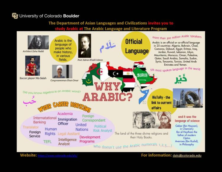 Why Arabic? Poster