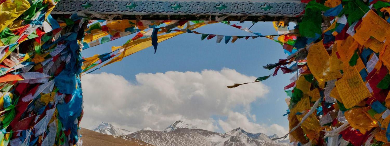 tibet prayer flags
