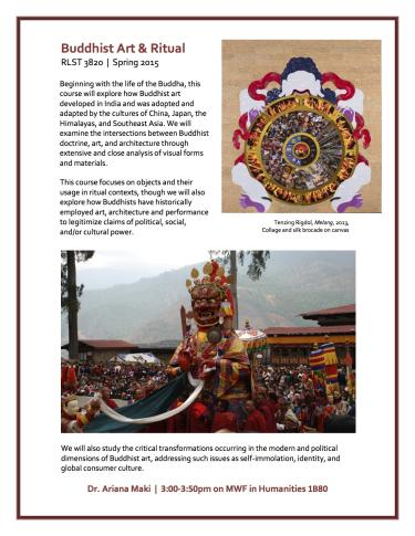 Buddhist Art and Ritual Spring 2015 Course