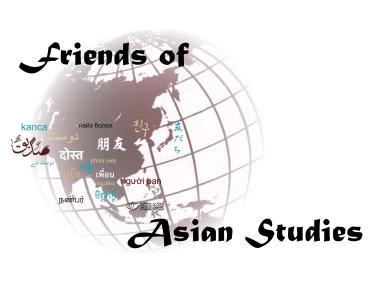 Friends of Asian Studies CAS