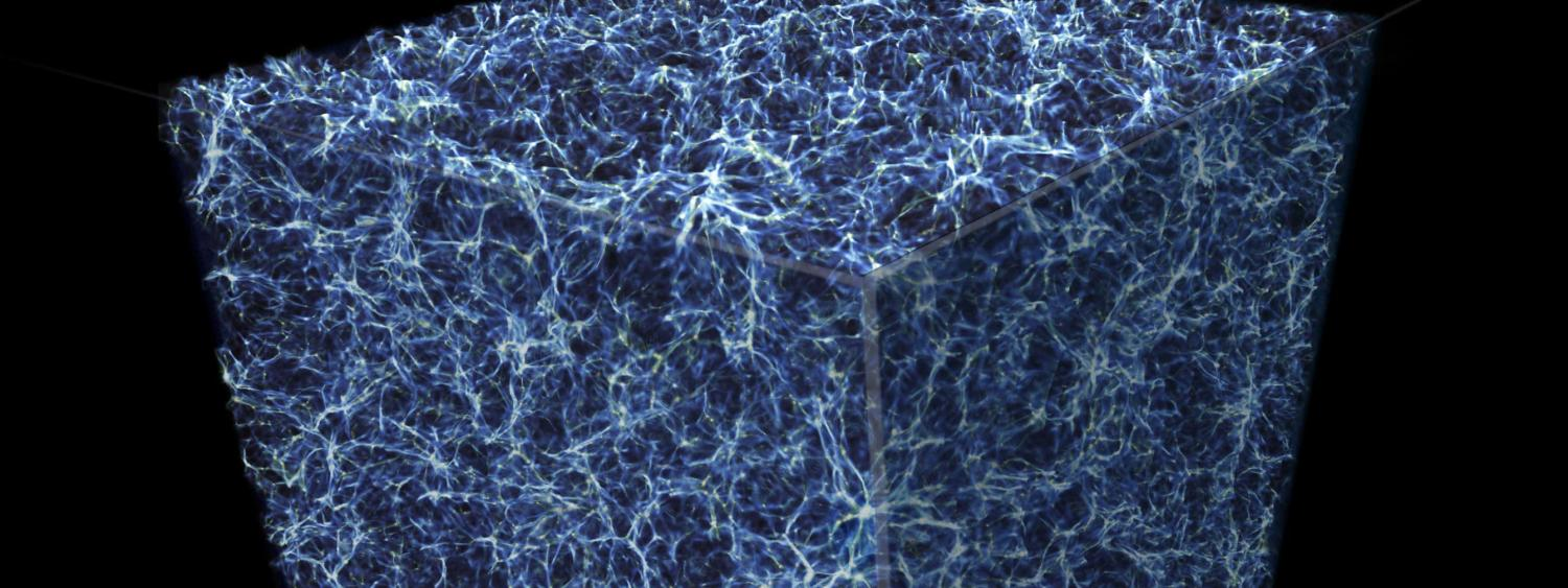 Simulation of Cosmic Web