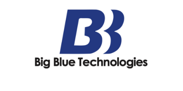 big blue technologies logo