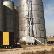 hive tech solutions truck on farm