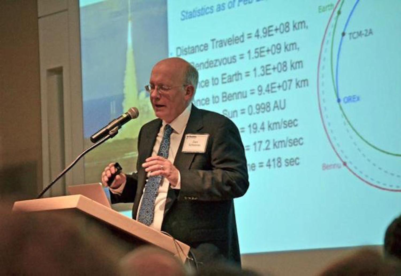 Daniel Scheeres  speaking about the OSIRIS-REx mission