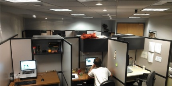 photo of student office spaces provided by CCAR