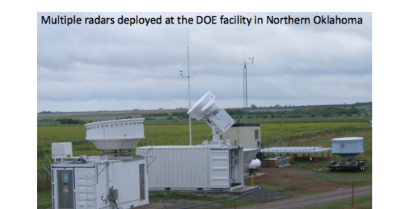 multiple radaes deployed at DOE faculty in Northern OK