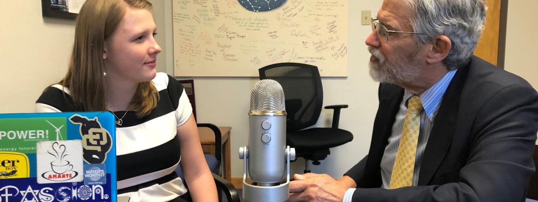 Nikki van Den Heever interviews John Holdren.