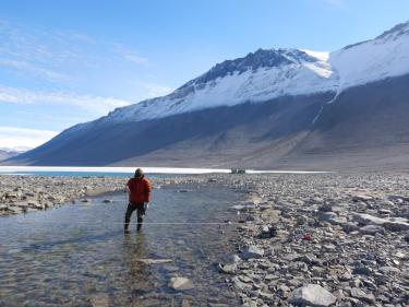 Antarctic hydrology research