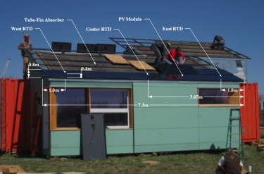 Diagram of Photovoltaic-Thermal Collector System