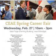 Spring 2019 CEAE Career Fair
