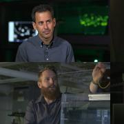 The four members of Crimaldi's research team
