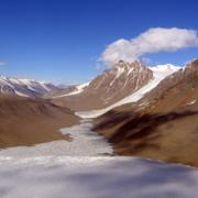 Taylor Valley in the McMurdo Dry Valleys of Antarctica