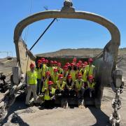 Students visit mining operations in Craig, Colorado.