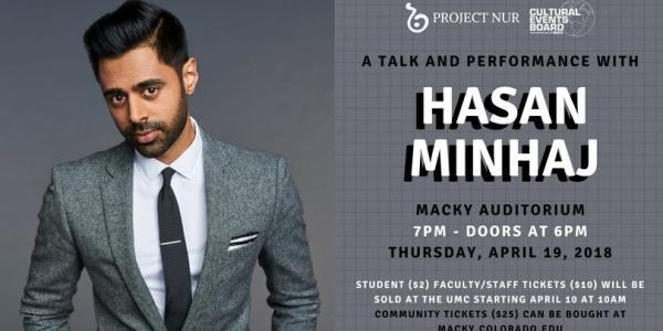 An Evening with Hasan Minhaj