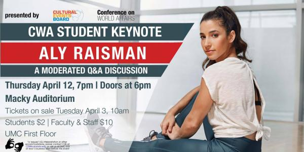 CWA Student Keynote: Aly Raisman