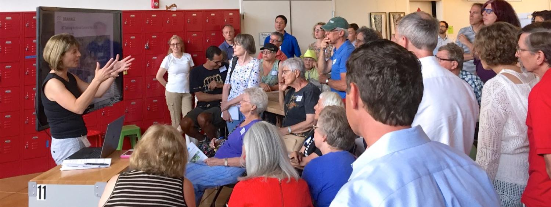 community meeting westwood