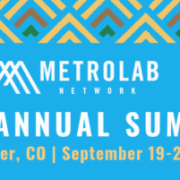 Logo for MetroLab conference