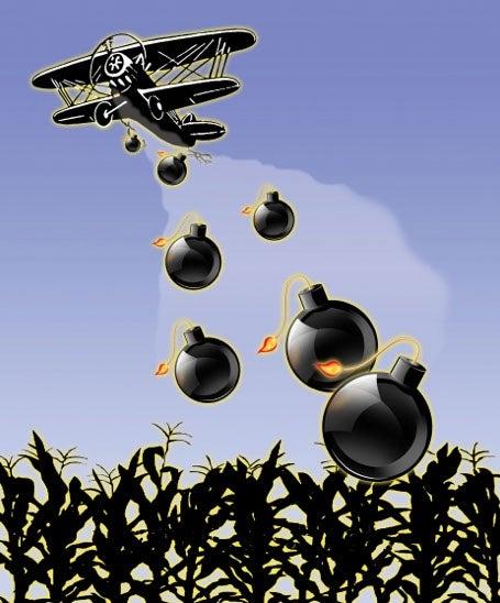 Market share chemical warfare