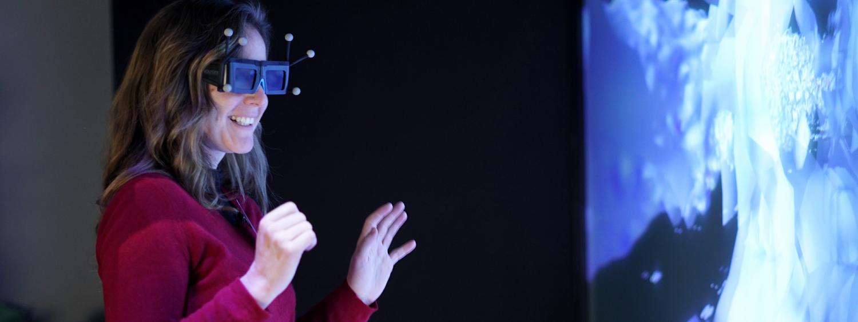 NREL 3-D visualization lab