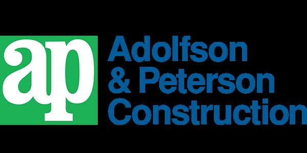 Adolfson and Peterson company logo