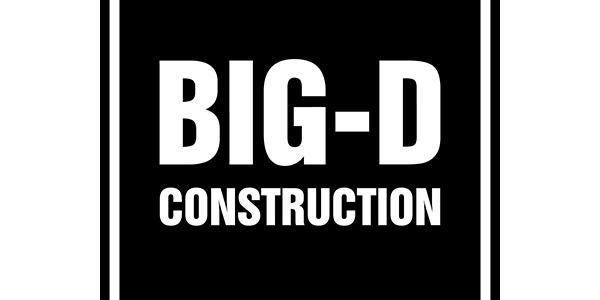 Big D construction logo