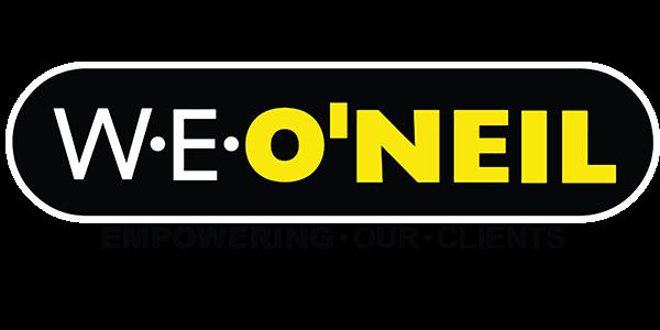 WE O'Neil logo