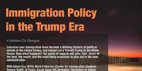 Immigration Policy in the Trump Era